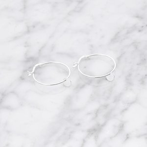 La Concha hoop earrings | 925 silver