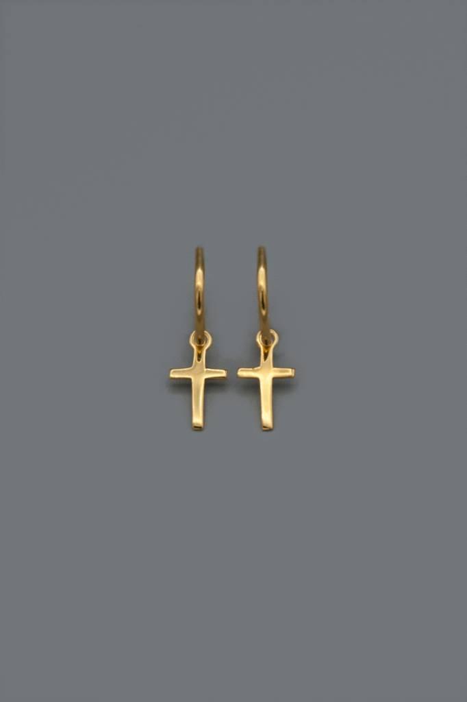 La Croix  earrings | gold plated silver