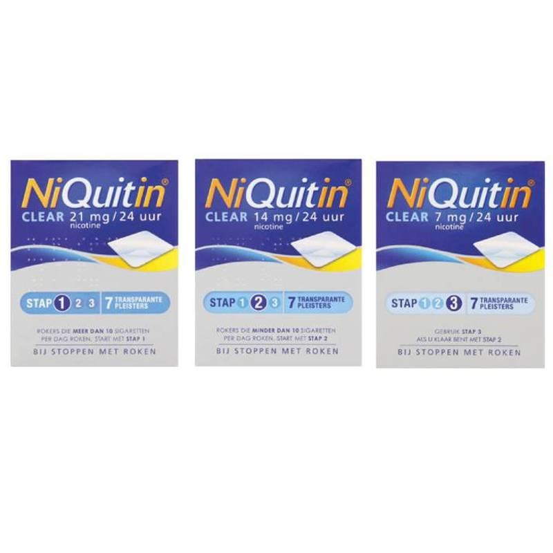 NiQuitin NiQuitin Clear Pleisters 7st