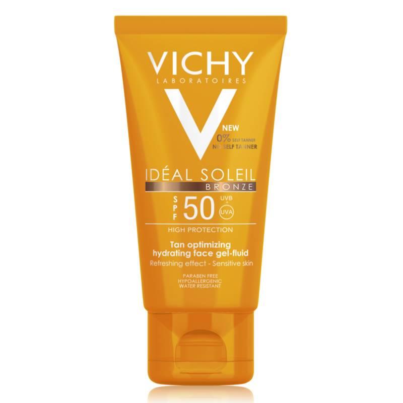 Vichy Vichy IDÉAL SOLEIL Bronze Gel-Fluide voor het gezicht SPF50 - 50ml