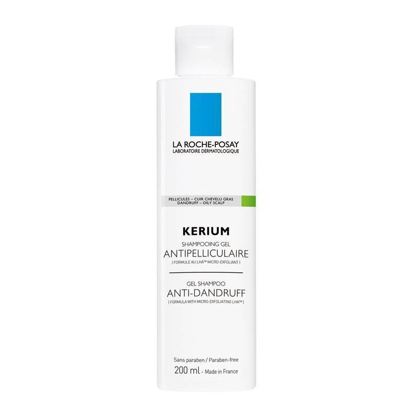 La Roche-Posay La Roche-Posay KERIUM Vette Schilfers Gel-Shampoo tegen roos en vet haar - 200ml