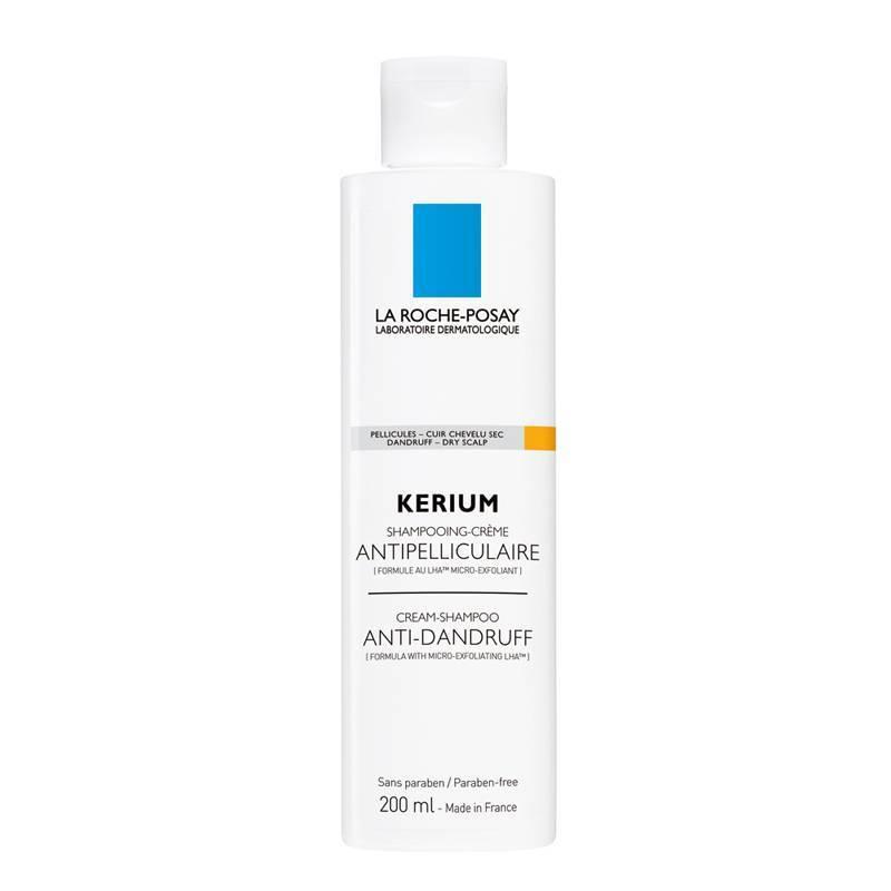 La Roche-Posay La Roche-Posay KERIUM Droge Schilfers Crème Shampoo tegen roos en droog haar - 200ml