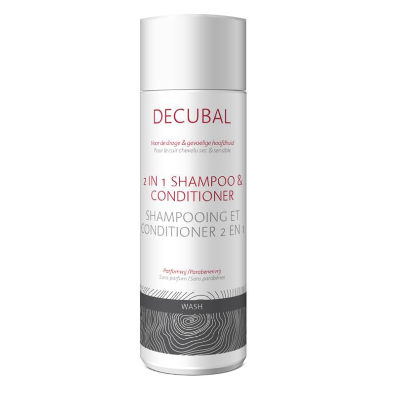 Decubal Decubal Wash 2 in 1 Shampoo & Conditioner - 200ml