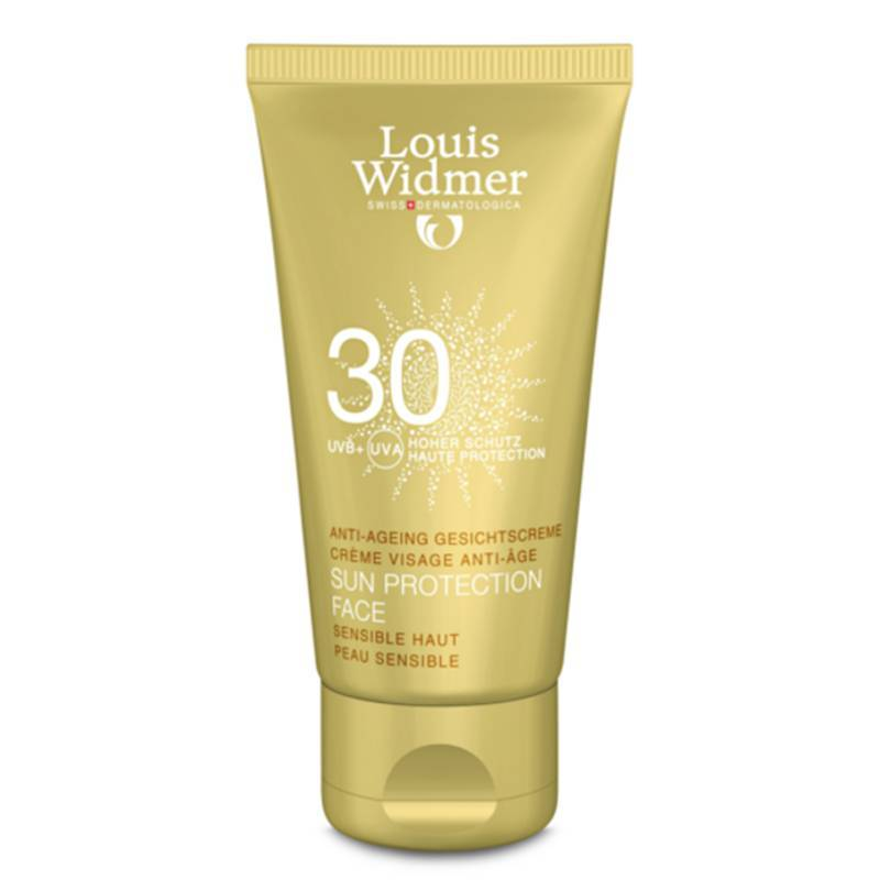 Louis Widmer Louis Widmer Sun Protection Face 30 Licht Geparfumeerd - 50ml