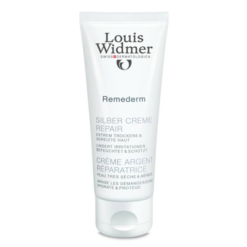 Louis Widmer Louis Widmer Remederm Zilver Crème Repair Zonder Parfum - 75ml