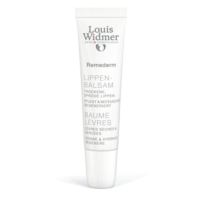 Louis Widmer Louis Widmer Remederm Lippenbalsem Licht Geparfumeerd - 15ml