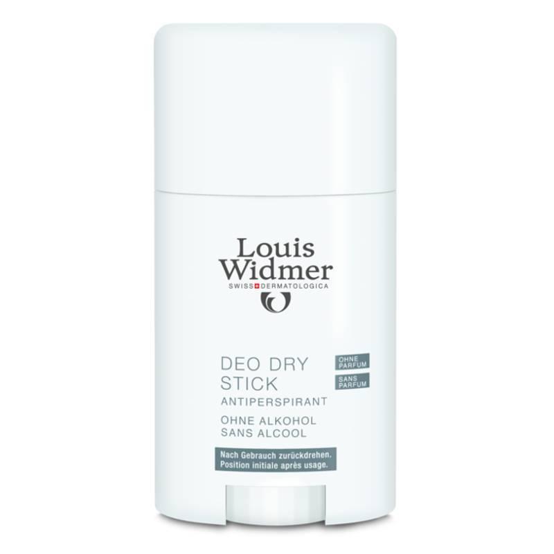 Louis Widmer Louis Widmer Deo Dry Stick Antiperspirant Licht Geparfumeerd - 50ml