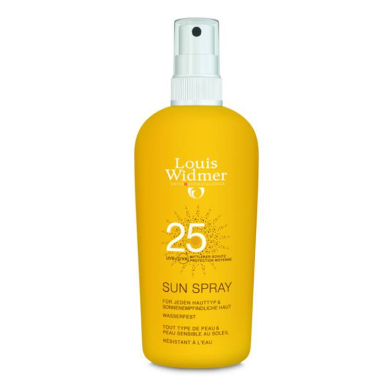 Louis Widmer Louis Widmer Sun Spray 25 Zonder Parfum - 150ml