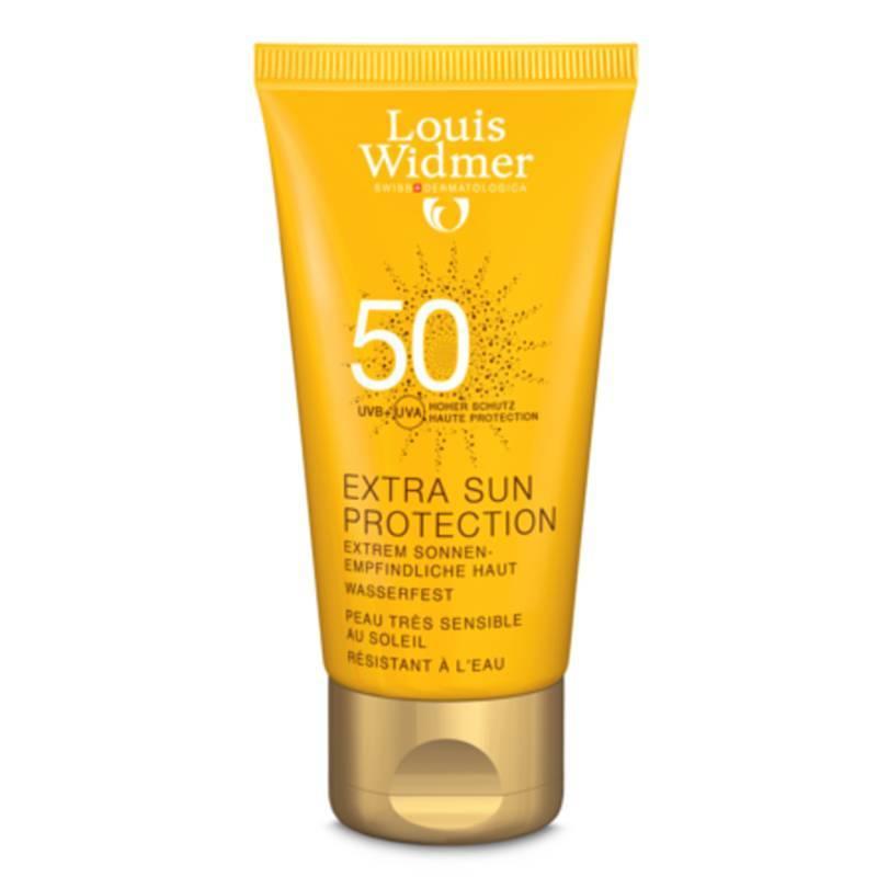 Louis Widmer Louis Widmer Extra Sun Protection 50 Zonder Parfum - 50ml