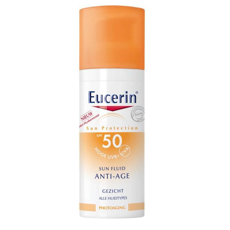 Eucerin Eucerin Sun Fluid Anti-Age SPF50+ - 50ml