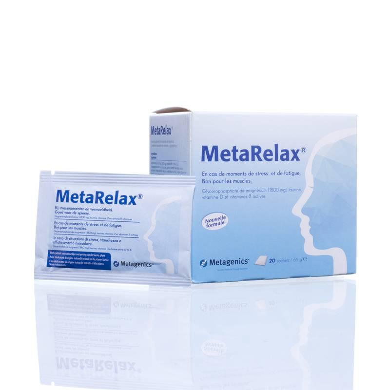 Metagenics MetaRelax - 20 zakjes