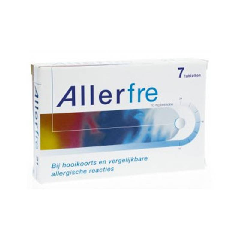 Allerfre 10mg - 7 st.