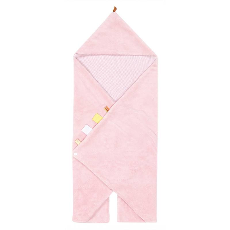 Snoozebaby Snoozebaby Trendy Wrapping Powder Pink - 1st