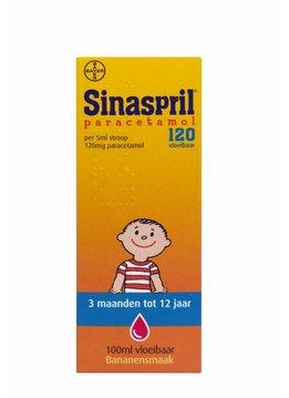 Sinaspril Sinaspril Paracetamol 120 vloeibaar - 100ml
