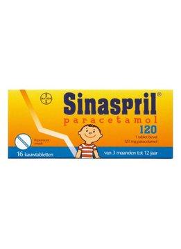 Sinaspril Sinaspril Paracetamol 120 - 16 tabletten