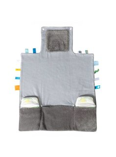 Snoozebaby Snoozebaby Easy Changing Hippo Grey - 1st