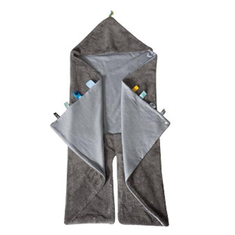 Snoozebaby Snoozebaby Trendy Wrapping Storm Grey - 1st