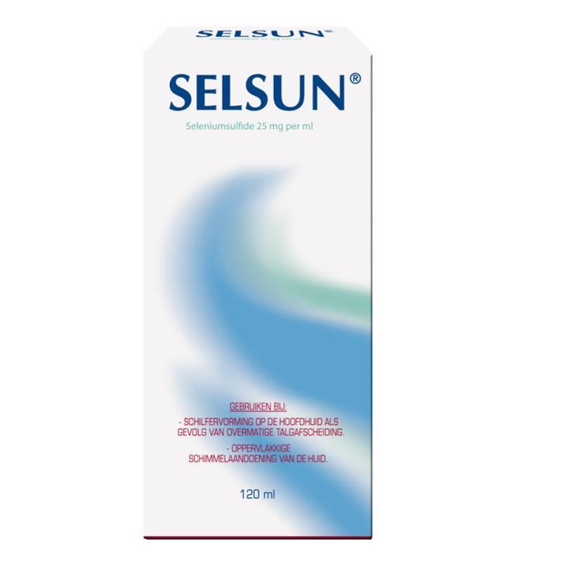 Selsun Selsun suspensie 120ml