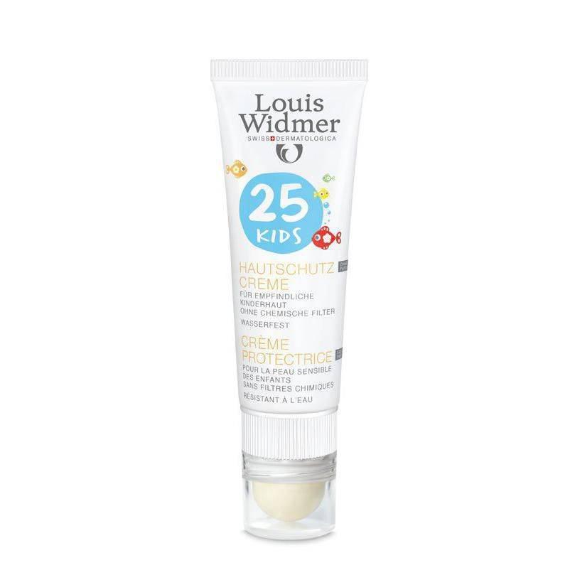 Louis Widmer Louis Widmer Kids Skin Protection Cream SPF 25 Zonder Parfum- 25ml