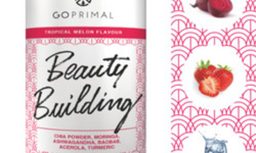 Beauty Building Beet and Strawberry
