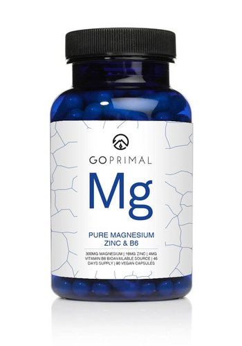 GoPrimal GoPrimal Magnesium and Zinc