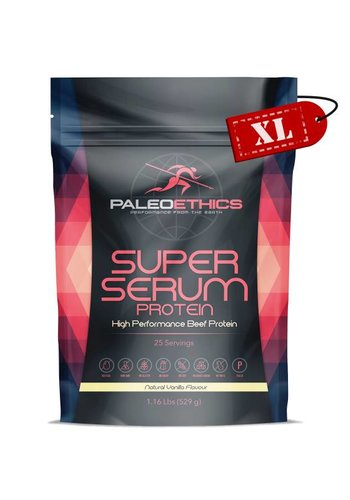 PaleoEthics Super Serum Protein XL Vanilla // SALE 50%