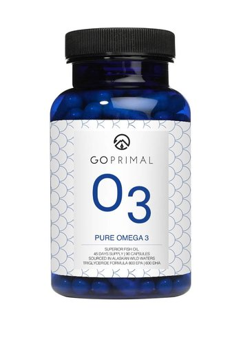 GoPrimal NEW GoPrimal O3 Fishoil