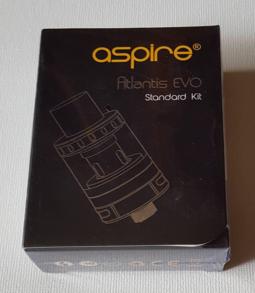 Aspire Atlantis EVO Packung von vorne