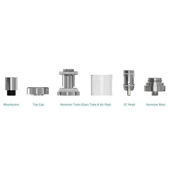 melo 3 clearomizer mit 4 ml tankvolumen dann lieber dampfen. Black Bedroom Furniture Sets. Home Design Ideas