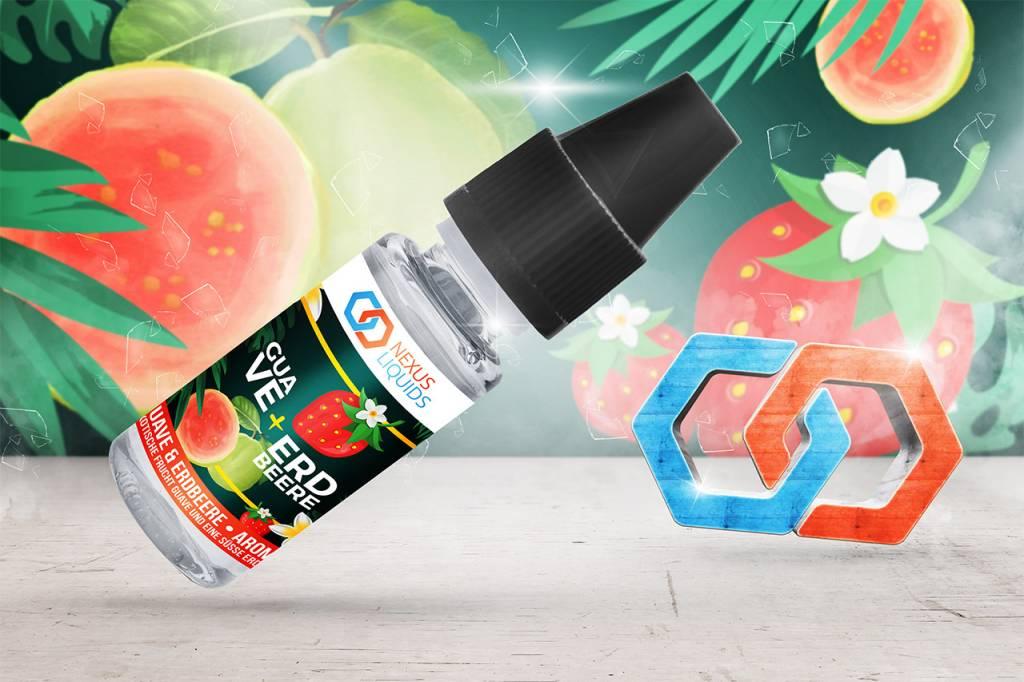guave erdbeere aroma von nexus liquids dann lieber dampfen. Black Bedroom Furniture Sets. Home Design Ideas