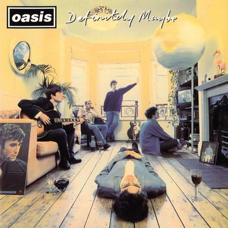 Oasis - Definitely Maybe (Lp-Vinyl)