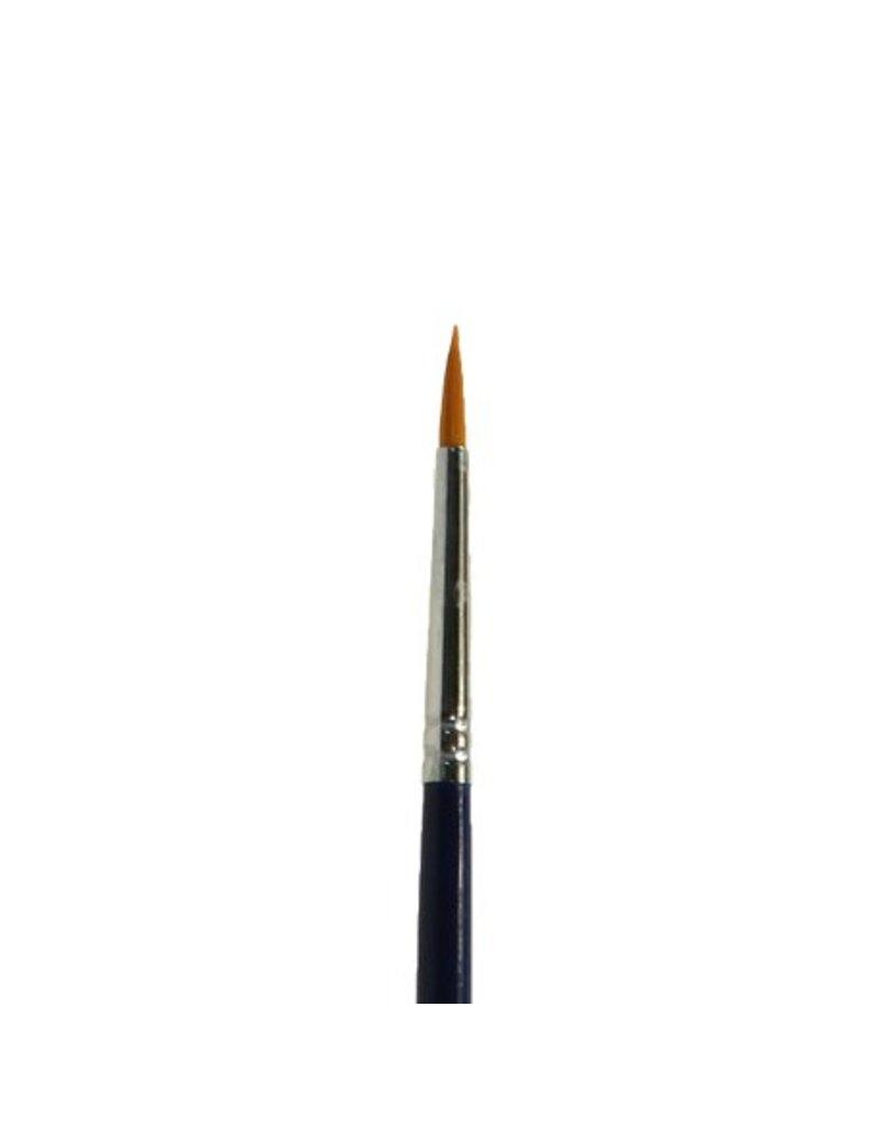 Diamond FX DFX penseel rond #3 voor lijnen, krullen, druppels, details