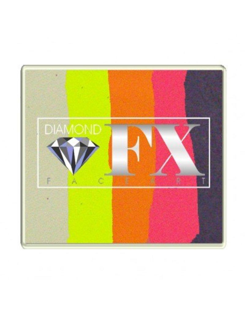 Diamond FX Splitcake vlinder schmink van Diamond FX #50-92 (50 gram)