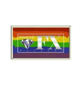 Diamond FX Splitcake regenboog schmink (Diamond FX, 30 gr)