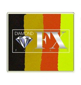 Diamond FX Splitcake Halloween schmink (Diamond FX, 50 gr)