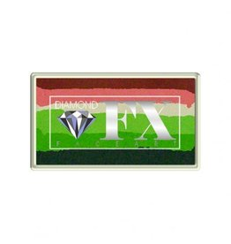 Diamond FX Splitcake bloemen schmink (Diamond FX, 30 gram)