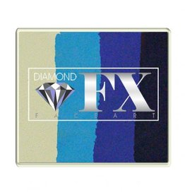 Diamond FX Splitcake Frozen schmink (Diamond FX, 50 gram)