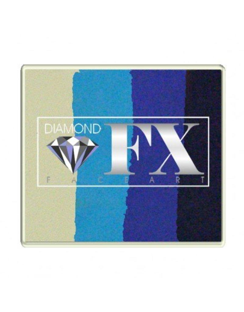 Diamond FX Splitcake Frozen schmink van Diamond FX #50-10 (50 gram)