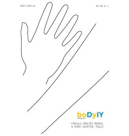 boDyIY boDyIY oefenbord Hand & Arm #11 (afwasbaar, A4)