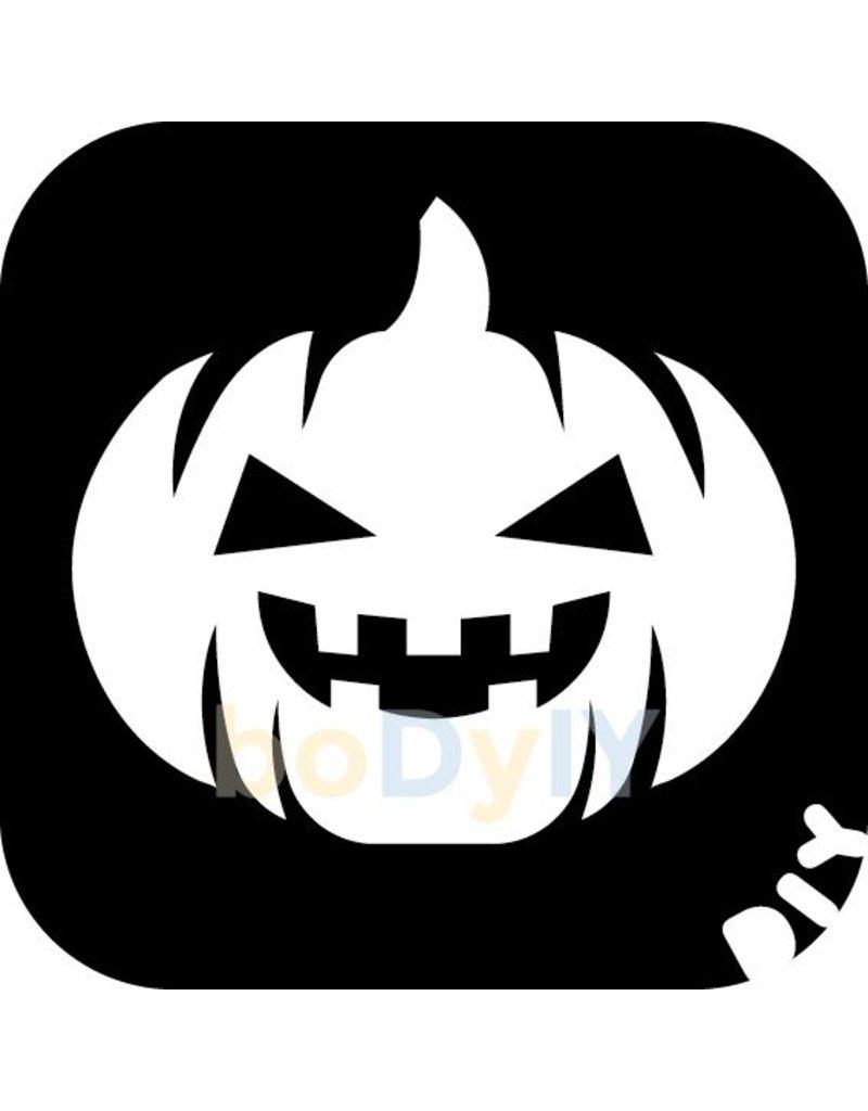 boDyIY Halloween glittertattoos van boDyIY (10 griezel sjablonen)