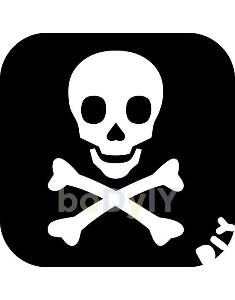 boDyIY Piraten glittertattoos van boDyIY (10 stoere sjablonen)