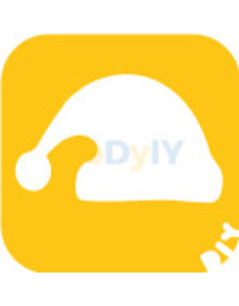 boDyIY Christmas / Kerst glittertattoos van boDyIY (10 sjablonen)