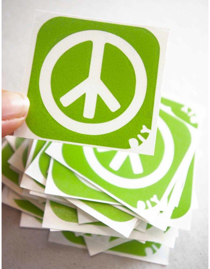 boDyIY Peace glittertattoos van boDyIY (10 sjablonen)