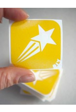 boDyIY Vallende ster glittertattoos van boDyIY (10 sjablonen)