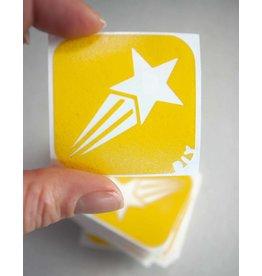 boDyIY Vallende ster (10 sjablonen)