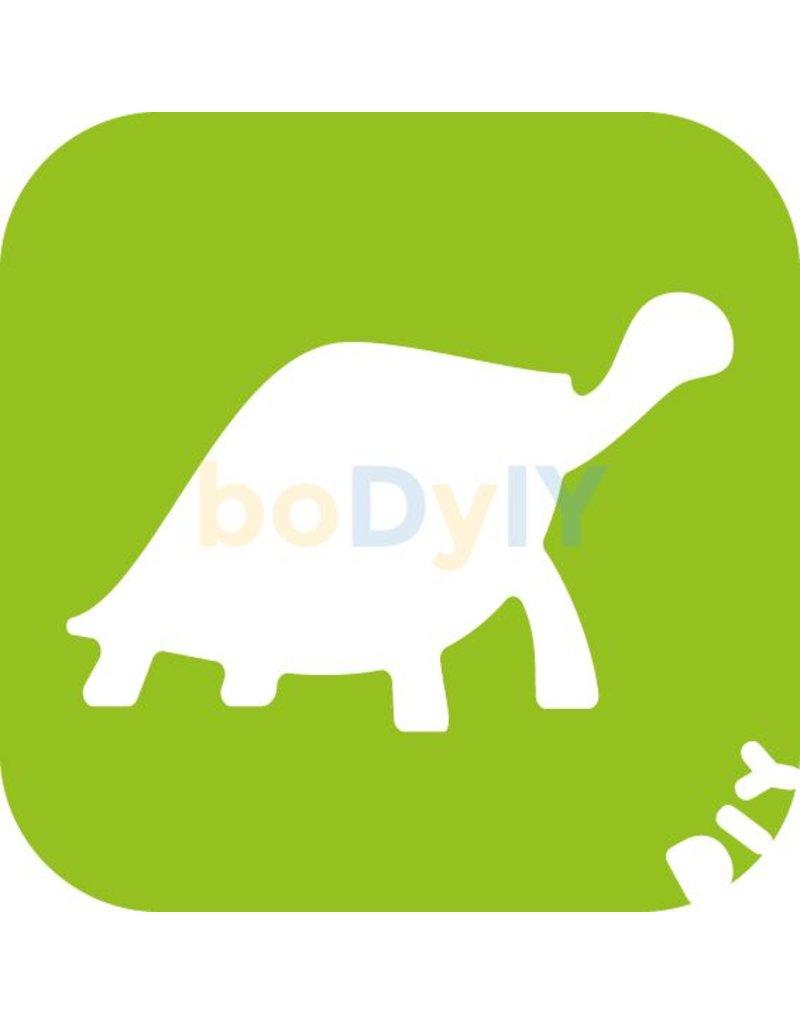 boDyIY Reptielen glittertattoos van boDyIY (10 dino sjablonen)