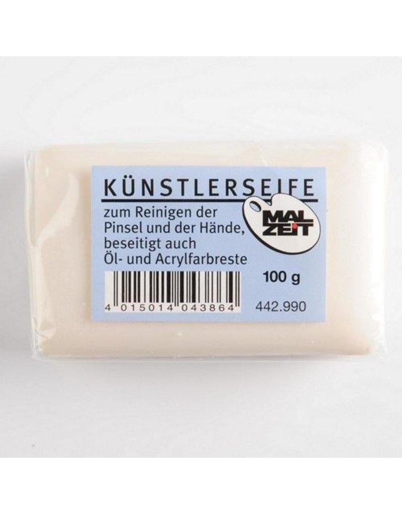 Blok penselenzeep voor het reinigen van penselen en sponsjes