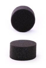 Partyxplosion Zwarte schminkspons om snel oppervlakten te schminken