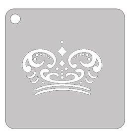 Schmink sjabloon kroon 2