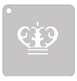 Schmink sjabloon kroon 1
